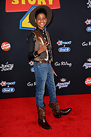 "LOS ANGELES, USA. June 12, 2019: JD McCrary at the world premiere of ""Toy Story 4"" at the El Capitan Theatre.<br /> Picture: Paul Smith/Featureflash"