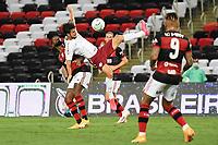 Rio de Janeiro (RJ), 06/01/2021 - Flamengo -Fluminense - Jogador do Fluminense,durante partida contra o Flamengo,válida pela 28ª rodada do Campeonato Brasileiro 2020, realizada no Estádio Jornalista Mário Filho (Maracanã), na zona norte do Rio de Janeiro, nesta quarta-feira (06).