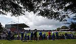 Rangers fans at Stair park, Stranraer