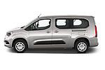 Car Driver side profile view of a 2021 Opel Combo-Life XL-Edition 5 Door Minivan Side View