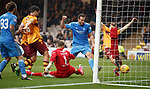 Andrew Considine scores the only goal of the match for Aberdeen