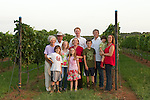 Family in the Vineyard