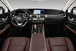 Stock photo of straight dashboard view of 2016 Lexus GS 350 4 Door Sedan Dashboard