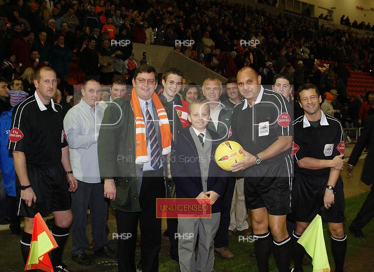9C8874 Matchball.Blackpool v Torquay