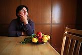 Ökolandbau in Georgien: Marika Kandorelashvili / Organic farming in Georgia: Marika Kandorelashvili .