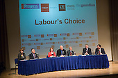 Fabian Society hustings meeting for candidates for the deputy leadership of the Labour Party at the Institute of Education, London.