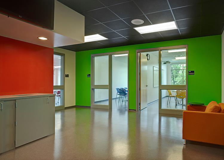 Clark Hall at Gahanna Lincoln High School   Architects: Bird Houk Collaborative