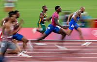 2020 Tokyo Olympic Games, Olympische Spiele, Olympia, OS Sunday - Athletics, Olympic Stadium, Tokyo, Japan 1/8/2021 Italys Lamont Marcell Jacobs wins the Mens 100m Final Lamont Marcell Jacobs wins the Mens 100m Final 1/8/2021 PUBLICATIONxNOTxINxUKxIRLxFRAxNZL Copyright: x INPHO/MorganxTreacyx AZ0I9064<br /> PhotoImago  / Insidefoto ITALY ONLY