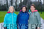 Sheila Dickson, Marian Higgins Audrey Crawford at The International Womens day walk in aid of Kerry Rape and Sexual Abuse Centre in Killarney National Park on Sunday