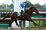 June 28, 2015 Mayor Mac (Miguel Mena) wins the first race at Churchill Downs, a six furlong maiden race for two year olds. Owner Arvel J. McMahan and Dennis Deibel, trainer Gregory D. Foley.  ©Mary M. Meek/ESW/CSM