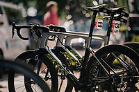 team Mitchelton Scott bikes ready to roll<br /> <br /> Stage 5: Lorient > Quimper (203km)<br /> <br /> 105th Tour de France 2018<br /> ©kramon