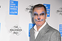 James Nesbitt<br /> at The Unicef UK Halloween Ball at One Embankment is raising vital funds to support Unicef's life-saving work for Syrian children in danger. To help Unicef keep children safe and warm this winter visit unicef.org.uk/halloweenball <br /> <br /> <br /> ©Ash Knotek  D3178  13/10/2016