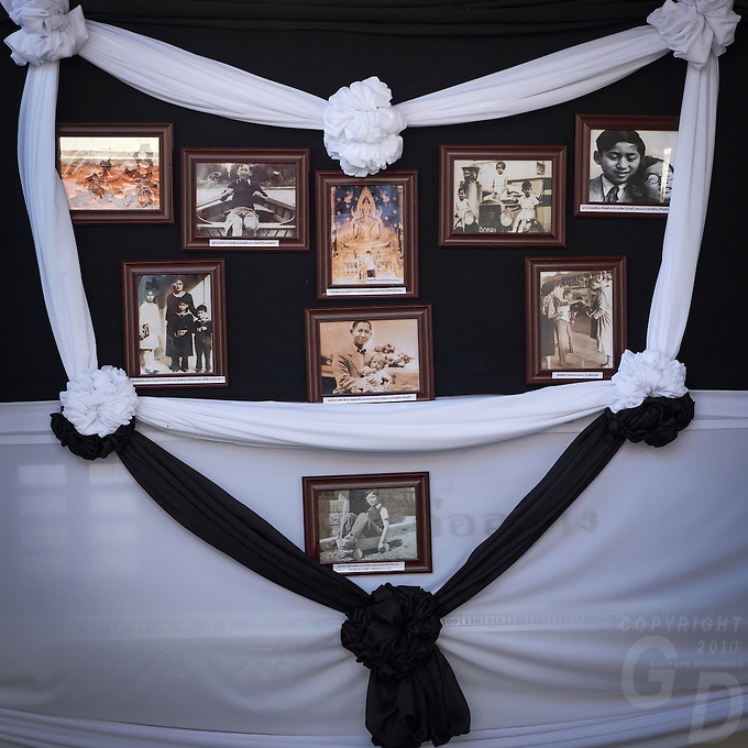 In memory of the Thai King Bhumibol Adulyadej, at Wat Phra Si Rattana Mahathat Phitsanulok Thailand<br /> Phra Phut Chin Rat at Wat Phra Sri Rattana Mahathat Temple, Phitsanulok, Thailand,