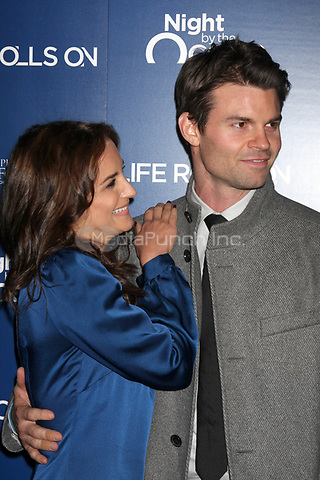 MARINA DEL REY, CA - NOVEMBER 10: Rachael Leigh Cook and Daniel Gillies at The Life Rolls On Foundation's 9th Annual Night by the Ocean at the Ritz-Carlton Hotel on November 10, 2012 in Marina del Rey, California. Credit: mpi21/MediaPunch Inc.