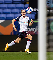 Bolton Wanderers' Lloyd Isgrove chasing the ball down<br /> <br /> Photographer Andrew Kearns/CameraSport<br /> <br /> EFL Papa John's Trophy - Northern Section - Group C - Bolton Wanderers v Newcastle United U21 - Tuesday 17th November 2020 - University of Bolton Stadium - Bolton<br />  <br /> World Copyright © 2020 CameraSport. All rights reserved. 43 Linden Ave. Countesthorpe. Leicester. England. LE8 5PG - Tel: +44 (0) 116 277 4147 - admin@camerasport.com - www.camerasport.com