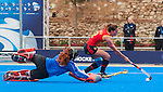 Hockey World League Round 2 - Valencia 2013. Spain (5)vs(3) Belarus. <br /> Valencia (Spain), 3 March 2013.
