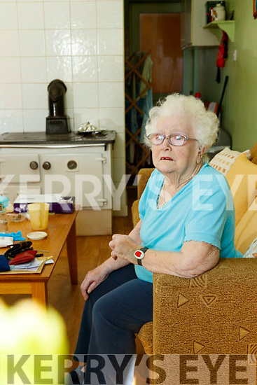 Betty Moody pictured at her home in Moyvane
