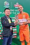 Shandong Luneng (CHN) vs Sidney FC (AUS) during AFC Champions League Round of 16 – 1st leg match on Wednesday, 18 May 2016 held at Jinan Olympic Stadium in Jinan, China. Photo by Marcio Machado/Power Sport Images