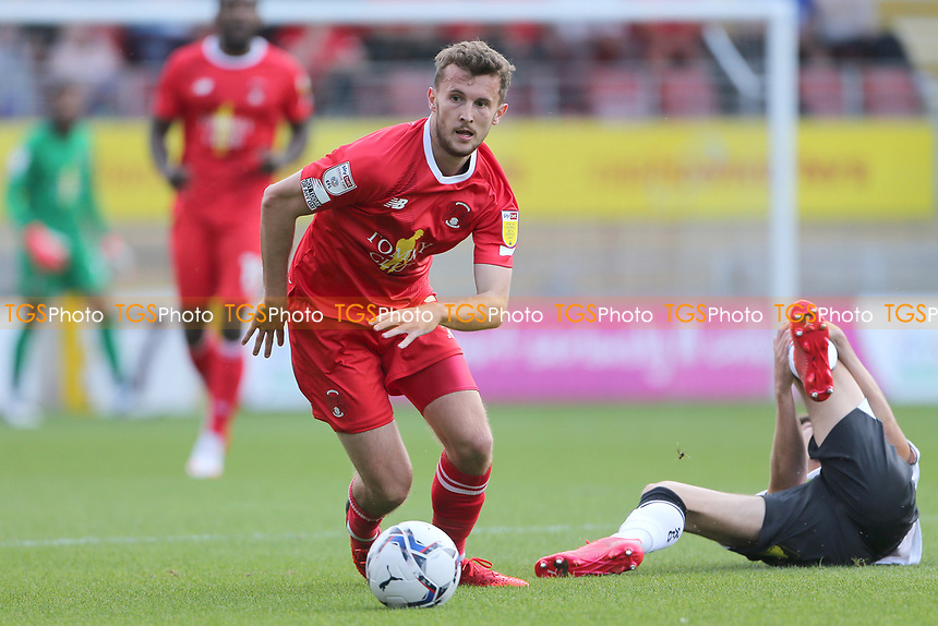 Tom James of Leyton Orient during Leyton Orient vs Oldham Athletic, Sky Bet EFL League 2 Football at The Breyer Group Stadium on 11th September 2021