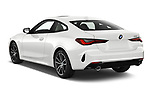 Car pictures of rear three quarter view of 2022 BMW 4-Series-Coupe 430i-Sport 2 Door Coupe Angular Rear