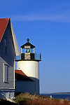 Curtis Island Lighthouse on Eastern Penobscot Bay, Camden, Maine, USA