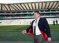Photo: Richard Lane/Richard Lane Photography. London Wasps v Gloucester. The Stinger at Twickenham Stadium. Aviva Premiership. 19/04/2014. Wasps' Director of Rugby, Dai Young.