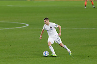 ST PAUL, MN - NOVEMBER 4: Przemyslaw Frankowski #11 of Chicago Fire FC controls the ball during a game between Chicago Fire and Minnesota United FC at Allianz Field on November 4, 2020 in St Paul, Minnesota.