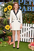 """Daisy Ridley<br /> arriving for """"Peter Rabbit"""" premiere at the Vue West End, Leicester Square, London<br /> <br /> ©Ash Knotek  D3387  11/03/2018"""