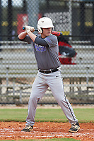 Conor Ellingsworth (9) of Laurel, Delaware during the Baseball Factory All-America Pre-Season Rookie Tournament, powered by Under Armour, on January 13, 2018 at Lake Myrtle Sports Complex in Auburndale, Florida.  (Michael Johnson/Four Seam Images)