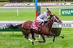 New York, NY - OCT 1: Ectot, #1  with Jose Ortiz aboard. wins the Joe Hirsch Turf Classic  Stakes at Belmont Park on October 1, 2016, in Elmont, NY. (Photo by Sue Kawczynski/Eclipse Sportswire/Getty Images)