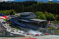 RACE START<br /> <br /> #34 RACING TEAM TURKEY (TUR) - ORECA 07/GIBSON LMP2-PRO/AM - SALIH YOLUC (TUR)/CHARLIE EASTWOOD (IRL)/LOGAN SARGEANT (USA)