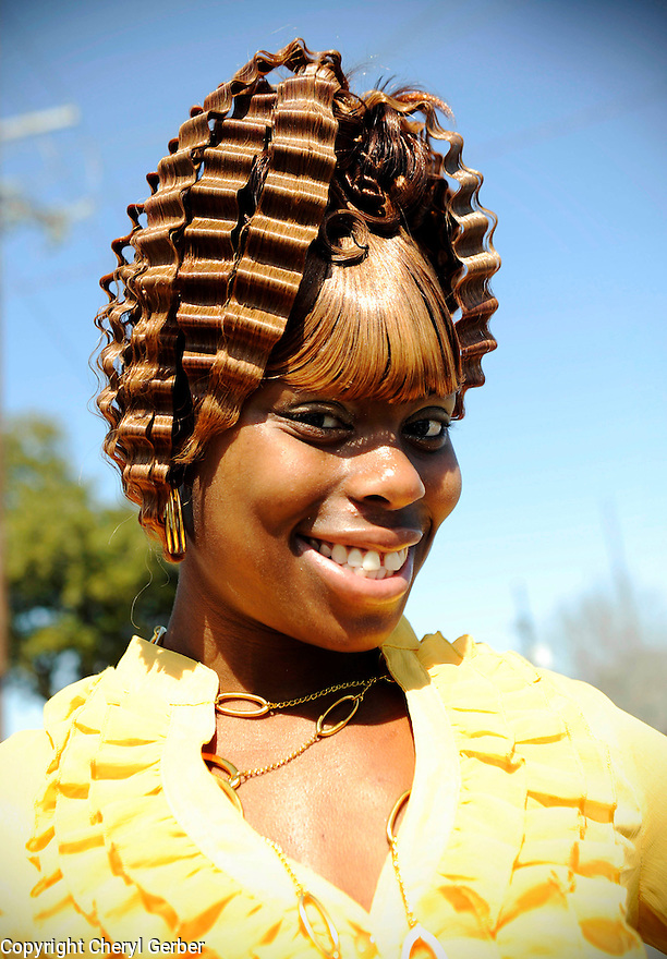 Washboard hairdo, Treme, 2010
