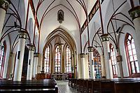 TOGO, Lome, catholic Heart Jesu cathedral from german colonial time, built 1902 by Steyler Missionaries / katholische Herz Jesu Kathedrale, gebaut 1901-02 waehrend der deutschen Kolonialzeit von den Steyler Missionaren