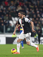 Calcio, Serie A: Juventus - Parma, Turin, Allianz Stadium, January 19, 2020.<br /> Juventus' captain Leonardo Bonucci in action during the Italian Serie A football match between Juventus and Parma at the Allianz stadium in Turin, January 19, 2020.<br /> UPDATE IMAGES PRESS/Isabella Bonotto
