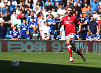 28th August 2021; Cardiff City Stadium, Cardiff, Wales;  EFL Championship football, Cardiff versus Bristol City; Andreas Weimann of Bristol City