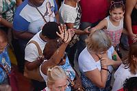 SÃO GONÇALO, RJ, 31.05.2018 - TAPETE-SÃO GONÇALO- Missa e Procissão de Corpus Christi, em  São Gonçalo, região metropolitana do Rio de Janeiro nesta quinta-feira, 31. (Foto: Clever Felix/Brazil Photo Press)