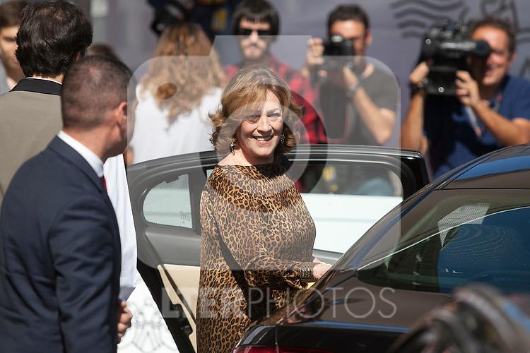 Carmen Maura arrives to 63rd Donostia Zinemaldia (San Sebastian International Film Festival) in San Sebastian, Spain. September 18, 2015. (ALTERPHOTOS/Victor Blanco)