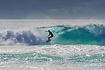 """Lone Surfer<br /> Print Size:30.00"""" x 19.88""""<br /> Print Material:Acrylic Print<br /> <br /> More products available at http://fineartamerica.com/profiles/paul-woodford.html<br /> <br /> to see more of our images from Greece- <br /> http://widescenes.photoshelter.com/gallery/Greece/G0000XWQe2INmlpU/C0000Hkk_HG89Byc"""