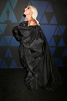 LOS ANGELES - NOV 18:  Lady Gaga at the 10th Annual Governors Awards at the Ray Dolby Ballroom on November 18, 2018 in Los Angeles, CA