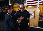 Images from a badge-pinning ceremony at Carson Fire Department in Carson City, Nev., on Monday, Oct. 16, 2017. <br /> Photo by Cathleen Allison/Nevada Momentum