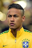 Neymar jr (Brasile) <br /> Parigi 26-03-2015 Stade De France Calcio Football 2014/2015 Amichevole Francia Brasile <br /> Foto Panoramic / Insidefoto