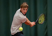 Wateringen, The Netherlands, December 8,  2019, De Rhijenhof , NOJK juniors 14 and18 years, Finals 18 years:   Guy den Ouden (NED)<br /> Photo: www.tennisimages.com/Henk Koster
