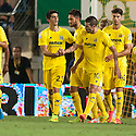 Villarreal's Gerard (23) after he scores their fourth goal.