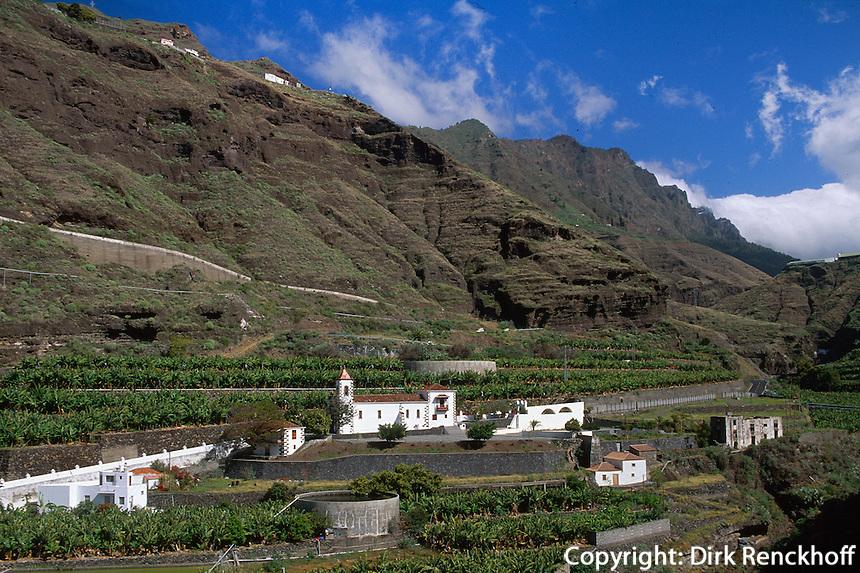 Spanien, Kanarische Inseln, La Palma, La Palma, Kirche von Angustias im Aridane-Tal