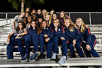 Lakewood Ranch, FL - Wednesday, October 10, 2018:   U-16 USWNT during a U-17 USWNT match against Colombia.  The U-17 USWNT defeated Colombia 4-1.