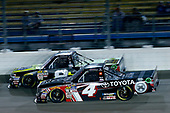 NASCAR Camping World Truck Series<br /> M&M's 200 presented by Casey's General Store<br /> Iowa Speedway, Newton, IA USA<br /> Friday 23 June 2017<br /> John Hunter Nemechek, Fire Alarm Services/Romco Equipment Co. Chevrolet Silverado, Christopher Bell, Toyota Toyota Tundra<br /> World Copyright: Brett Moist<br /> LAT Images