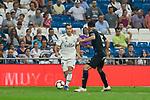 Real Madrid's Lucas Vazquez and CD Leganes's Jonathan Cristian Silva during La Liga match. September 01, 2018. (ALTERPHOTOS/A. Perez Meca)