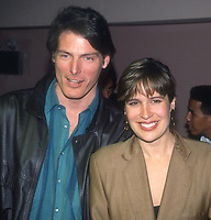 Chris and Dana Reeve 1982<br /> Photo By Adam Scull/PHOTOlink.net