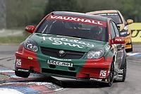 Round 2 of the 2007 British Touring Car Championship. #5 Fabrizio Giovanardi (ITA). VX Racing. Vauxhall Vectra.