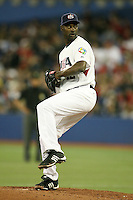 March 7, 2009:  Pitcher LaTroy Hawkins (42) of Team USA during the first round of the World Baseball Classic at the Rogers Centre in Toronto, Ontario, Canada.  Team USA defeated Canada 6-5 in both teams opening game of the tournament.  Photo by:  Mike Janes/Four Seam Images